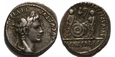 Római Birodalom Augustus ie. 27-isz. 14 denár