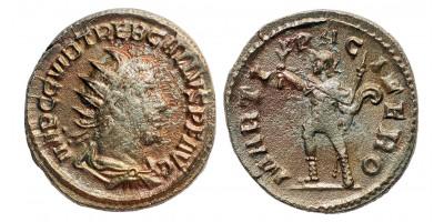 Római Birodalom Trebonianus Gallus 251-253 antoninianus
