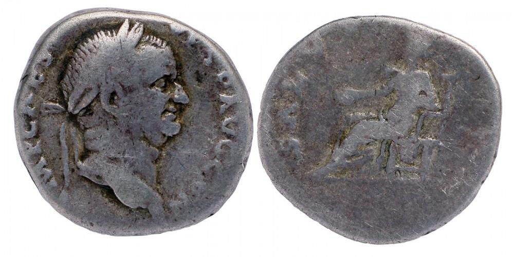 Római Birodalom Vespasianus 69-79 denár