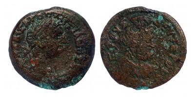 Római Birodalom Domitianus 81-96 diobol Alexandria R!