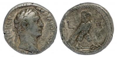Római Birodalom Traianus 98-117 tetradrachma Alexandria R!