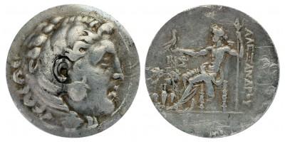 Görögország Makedónia Nagy Sándor ie. 336-323 tetradrachma Temnos R!