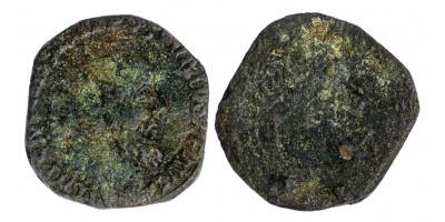 Római Birodalom Gall Császárság Postumus 260-269 dupla sestertius R!