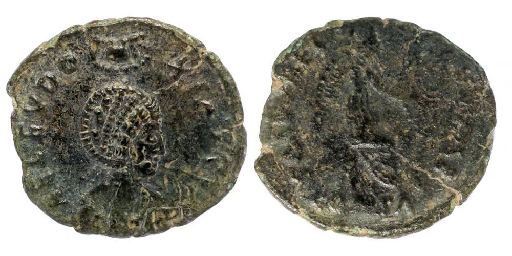 Római Birodalom Eudoxia 400-404 AE 3 bronz