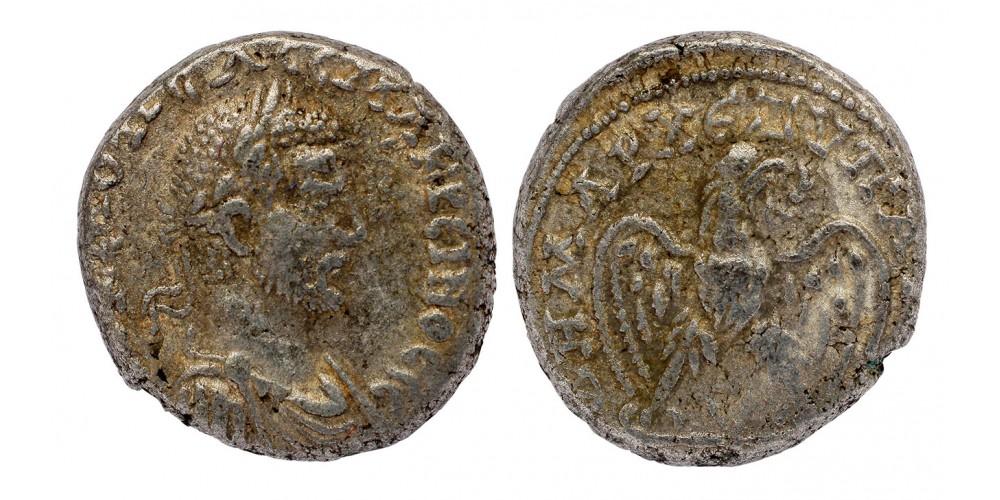 Római Birodalom Macrinus 217-218 tetradrachma Antiochia