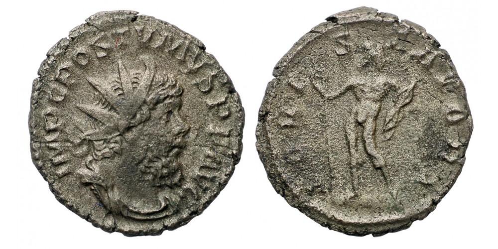 Római Birodalom Gall Császárság Postumus 259-268 antoninianus