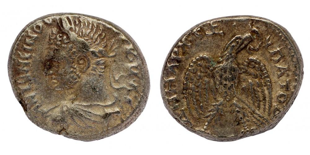 Római Birodalom Caracalla 198-217 tetradrachma Antiochia