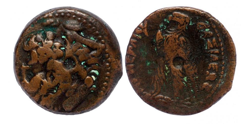 Egyiptom Ptolemaida Dinasztia V. Ptolemaiosz Epiphanesz 204-180 BC obol