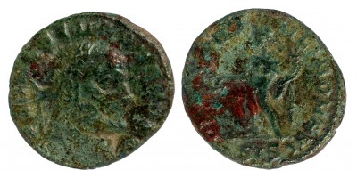 Római Birodalom II. Severus Caesar 305-306 1/4 follis Siscia