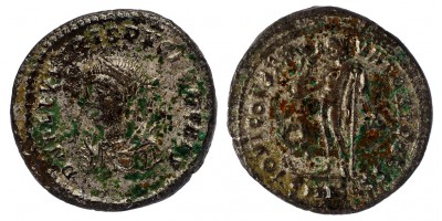 Római Birodalom Crispus Caesar 316-326 follis Nicomedia R!