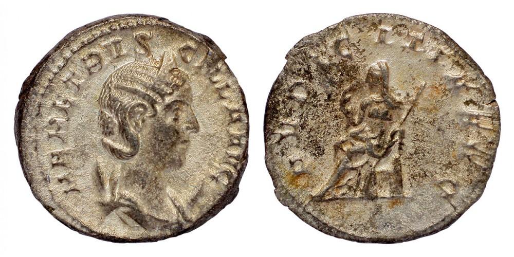 Római Birodalom Herennia Etruscilla 249-251 antoninianus