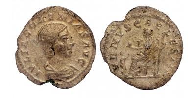Római Birodalom Julia Soaemias 218-222 denár
