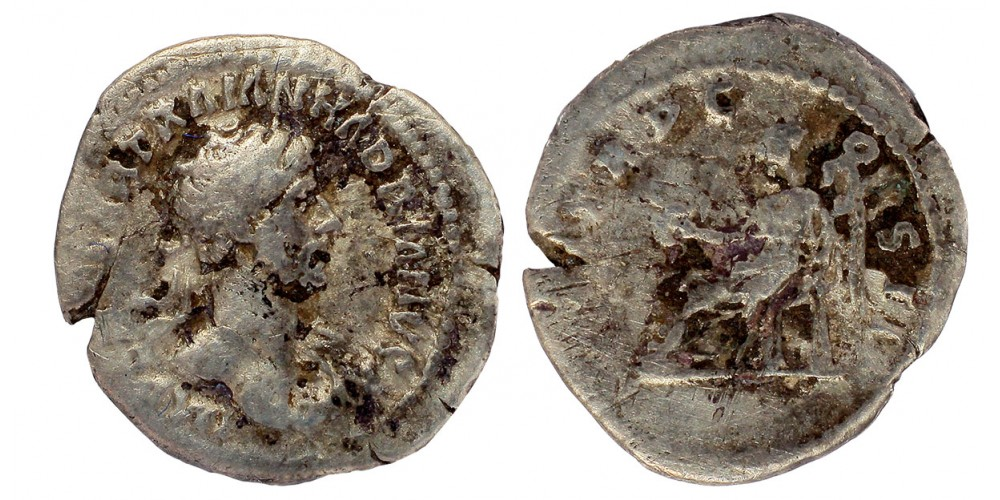 Római Birodalom Hadrianus 117-138 quinar