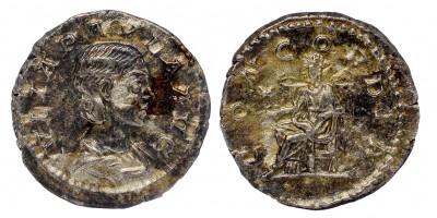 Római Birodalom Julia Paula 219-220 denár