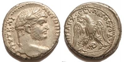 Római Birodalom Caracalla 198-217 tetradrachma Damascus