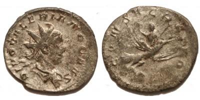 Római Birodalom II. Valerianus +258 antoninianus Consecratio
