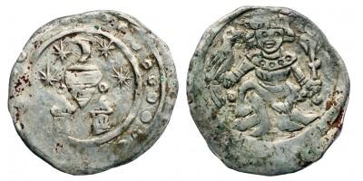 II. András 1205-35 denár ÉH 154 RR!