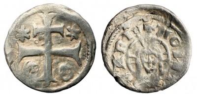 IV. Béla 1235-70 denár ÉH 253 R!