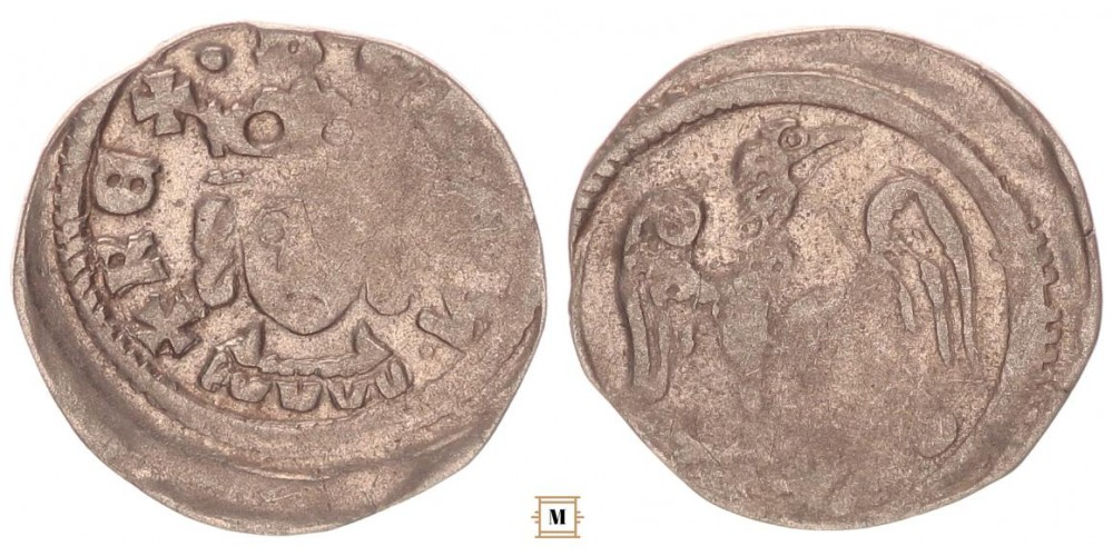 IV. Béla 1235-70 denár ÉH 235