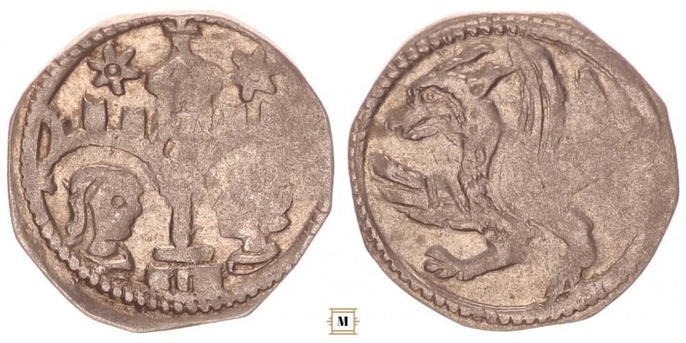 IV. László (IV. Béla) 1272-90 denár ÉH 300