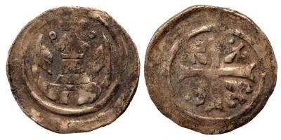 II. András 1205-35 denár ÉH 182 RRR!