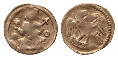 IV. Béla 1235-70 denár ÉH 244 R!