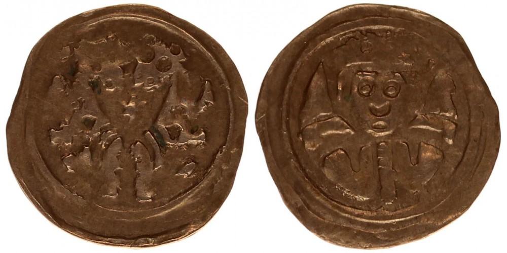 II. András 1205-35 denár ÉH 162