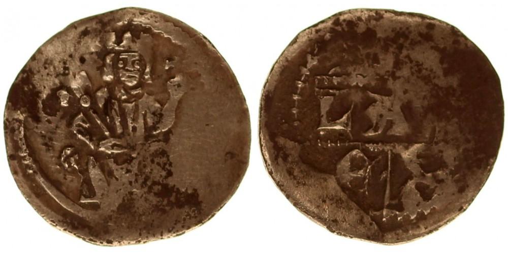 IV. Béla 1235-70 denár ÉH 225