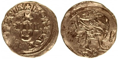 IV. Béla 1235-70 denár ÉH 256