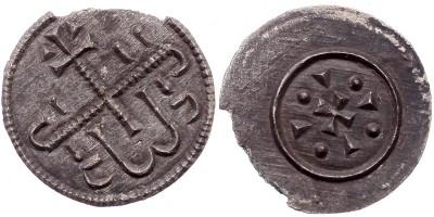 II. Géza 1141-62 denár ÉH 65