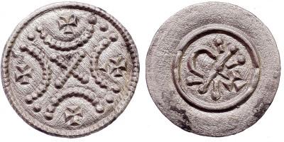 II. Géza 1141-62 denár ÉH 69