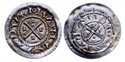 Géza herceg 1064-74 denár ÉH 12