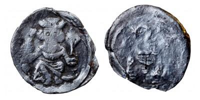 II. András 1205-35 obulus ÉH 155 RR!
