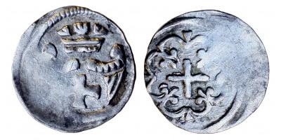 II. András 1205-35 obulus ÉH 158 R!