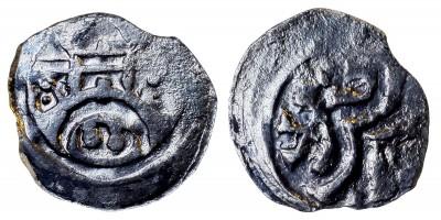 II. András 1205-35 obulus ÉH 161