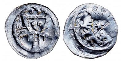 II. András 1205-35 obulus ÉH 163 R!