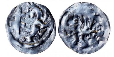 II. András 1205-35 obulus ÉH 191 RR!