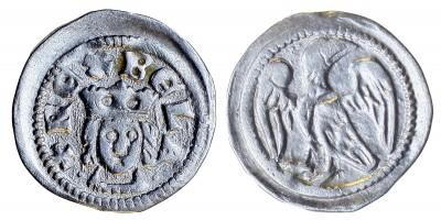 IV. Béla 1235-70 obulus ÉH 236 R!