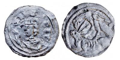 IV. Béla 1235-70 denár ÉH 241