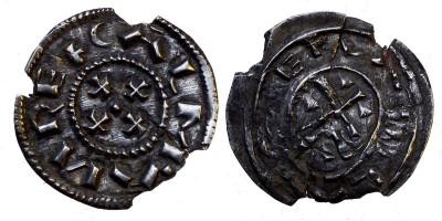 Kálmán 1095-1116 denár ÉH 27