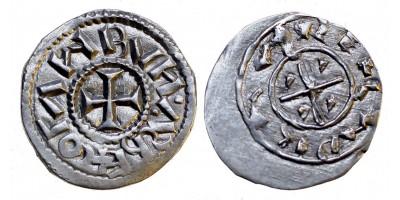 Kálmán 1095-1116 denár ÉH 28