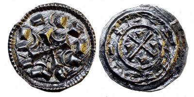 Kálmán 1095-1116 denár ÉH 32