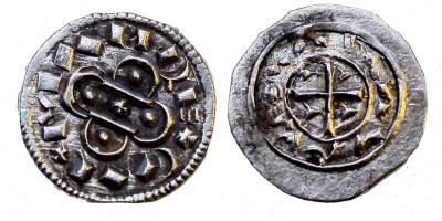 Kálmán 1095-1116 denár ÉH 34