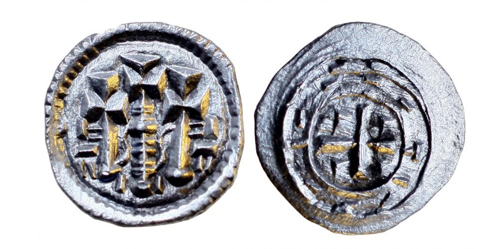 II. István 1116-31 denár ÉH 37