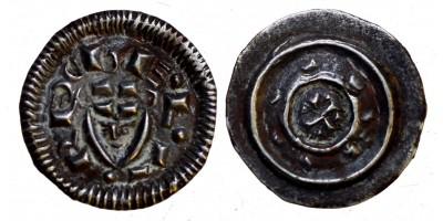II. Béla 1131-41 denár ÉH 43