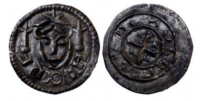 II. Béla 1131-41 denár ÉH 44