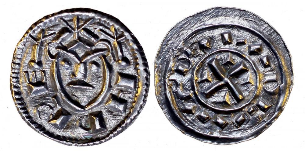 Bela II 1131-41 denar EH 44