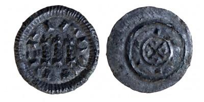 II. Béla 1131-41 denár ÉH 45