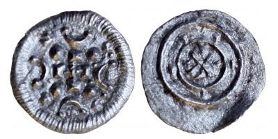 II. Béla 1131-41 denár ÉH 48
