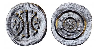 II. Béla 1131-41 denár ÉH 49